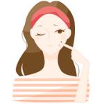 肌荒れが生理の前に酷くなるのはなぜ?ニキビ・ストレスとの関係
